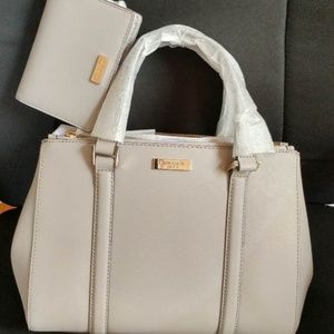 kate spade handbag and wallet set